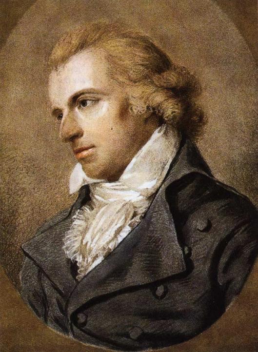 Friedrich Schiller von Ludovike Simanowiz, 1794