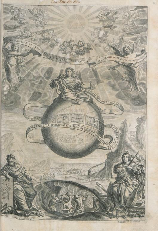 Athanasius Kircher, Musurgia universalis, Roma, 1650