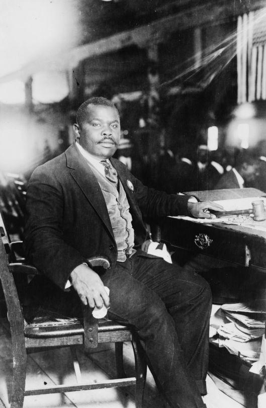 Marcus Garvey,fundador de la Asociación Universal para la Mejora del Hombre Negro (UNIA)