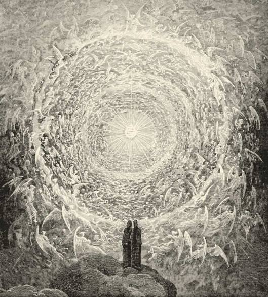 Dante´s vision on the Ophanim