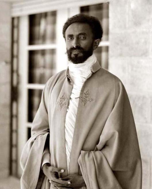 Ras Tafari o Haile Selassie, útimo emperador de Etiopía