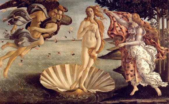 El mito de Venus, Afrodita