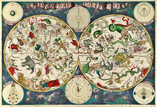 Planisphærium Coeleste, el Zodiaco