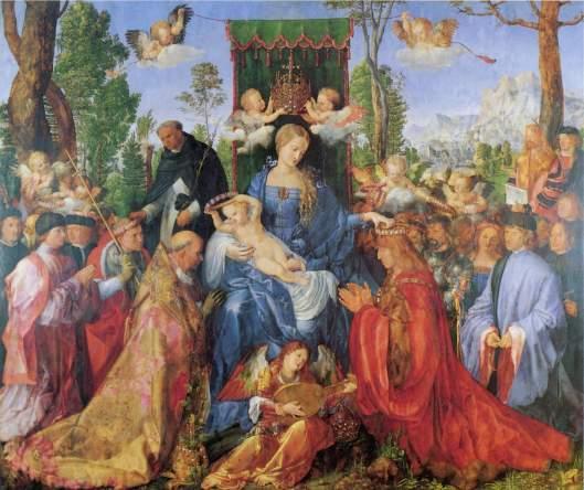 Albrecht Dürer, fiesta del rosario