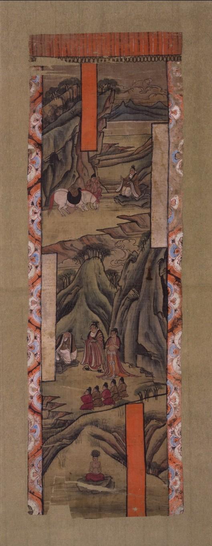 Representación pictórica del buda Gautamo