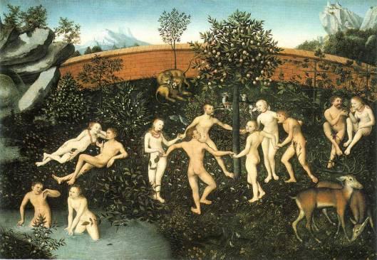 La edad de Oro. Lucas Cranach el viejo 1530