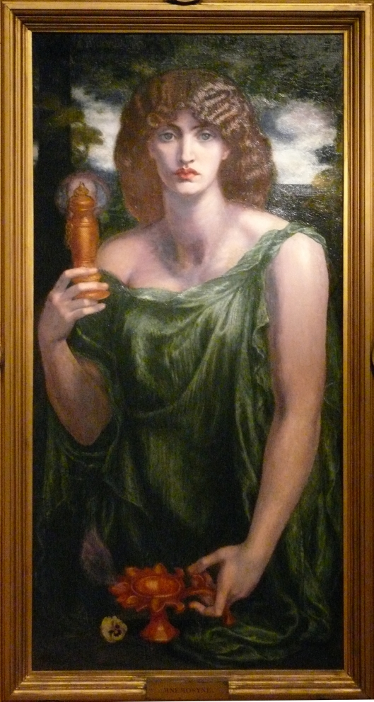 Mnemósine, Dante Gabriel Rossetti