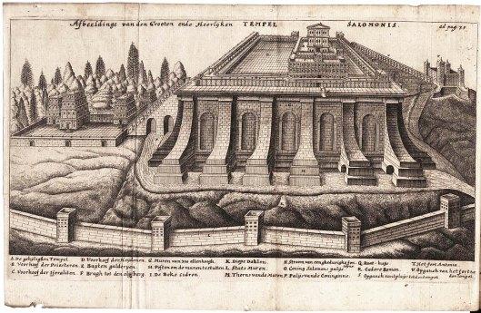 El templo de Salomón, Jacob Judá León