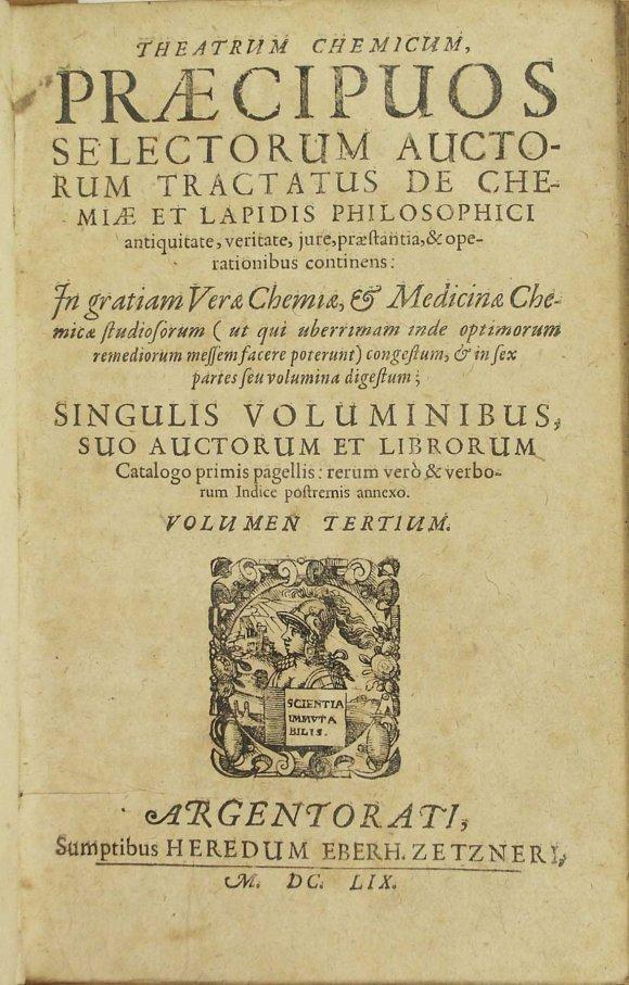 Theatrum Chemicum vol III