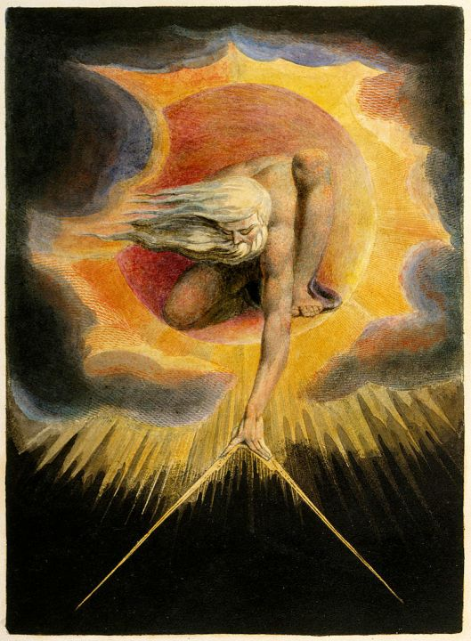 El anciano de los días. William Blake