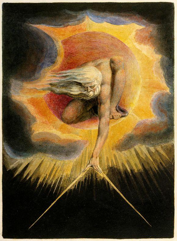 El anciano de los días. William Blake