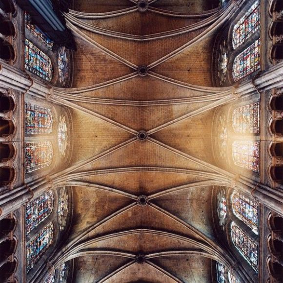 Chartres, crucero ojival