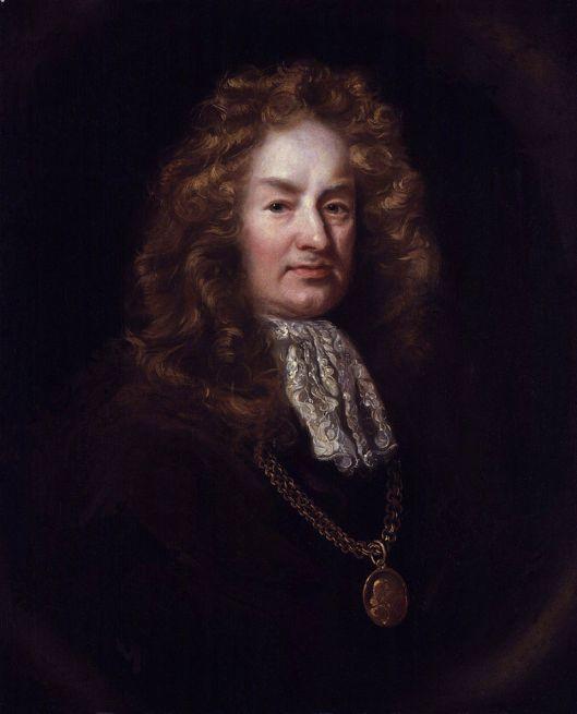 Elias Ashmole. 1688