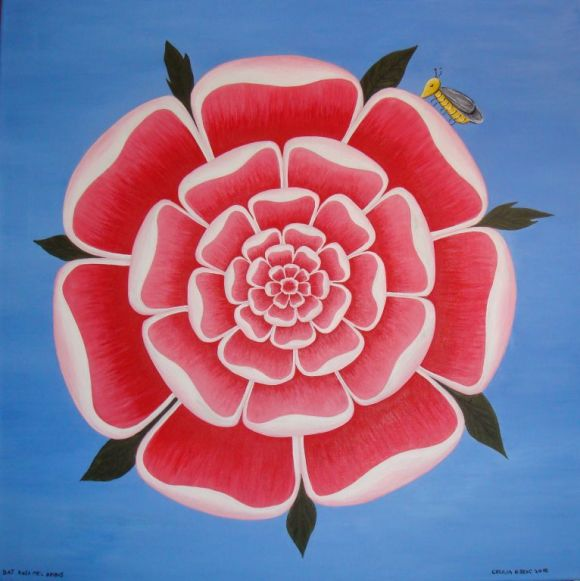 Rosa mystica. Cecilia Ribenc
